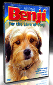 DVD - For the Love of Benji - Written, produced & directed by Joe