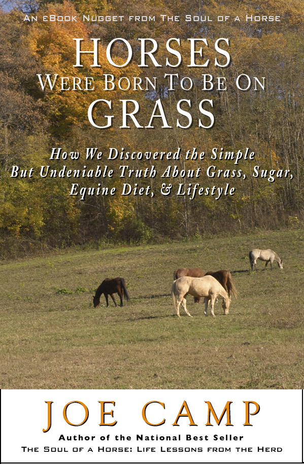 Horses Were Born to be on Grass - How We Discovered the Simple But Undeniable Truth About Grass, Sugar, Equine Diet & Lifestyle - Personally Inscribed