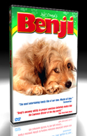 DVD -The Original Benji - Written, produced & directed by Joe