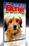 DVD - For the Love of Benji - Personally Inscribed by Joe Camp