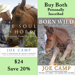 Buy Both The Soul of a Horse and Born Wild - Save 20% - Personally Inscribed